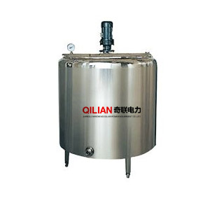 Jacketed heating Mixing Tank with agitator